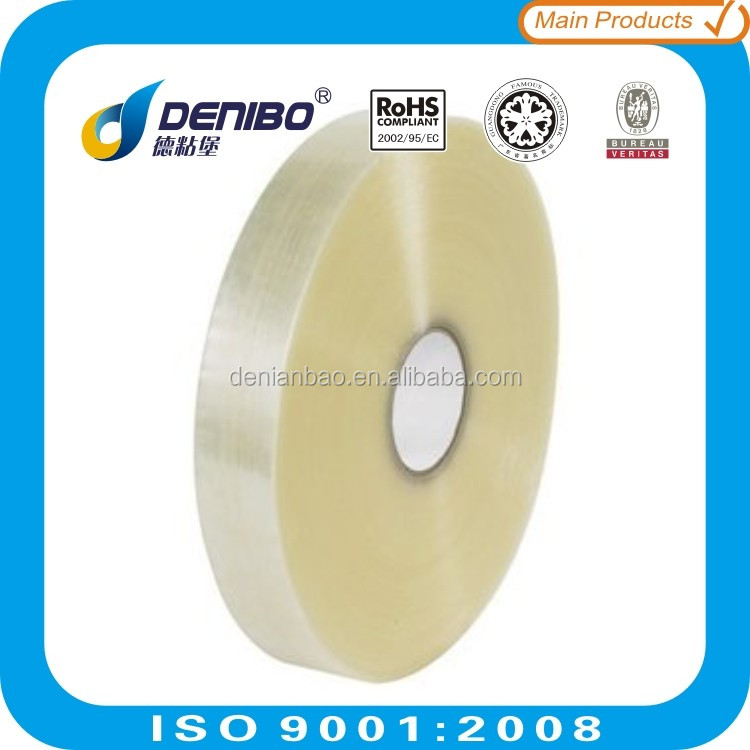 offer printing carton sealing packing bopp acrylic waterproof self adhesive tape