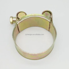 Manufacturers Association Robust With Solid Nut Hose Clamp