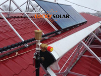 Pressure Solar Collector House heating