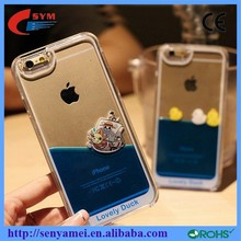 Floated Duck ship case 2015 mobile phone necessary for iphone 6 case clear