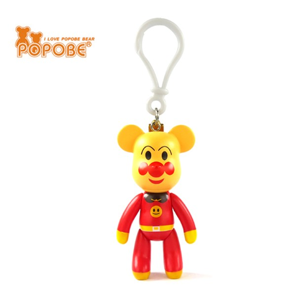 DIY Bear Figure Keychain Fashion Designs Key Chain Charm Key Ring Gift For Kids