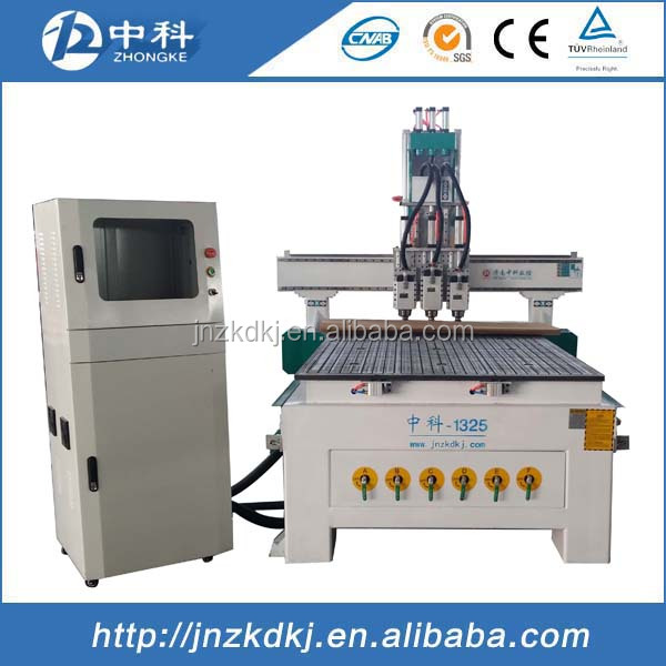 3D Wood Carving Machine / cnc router 1325 price