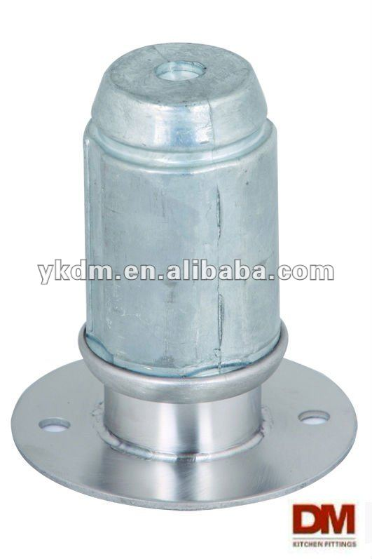 Flanged Zamak Foot insert for 2''-50.8mm round tube