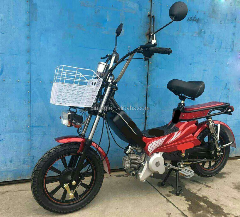china EEC 50cc gas scooter petrol moped with pedals hot sale in turkey market for sale