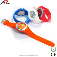 Hot sale water resistant 30m promotional sports silicone watch