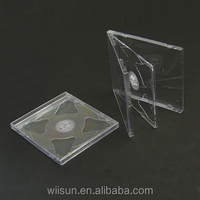 10.4mm B with Clear tray single jewel CD case