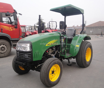Made in China 2018 hot sale DQ404 40hp small tractor with turf tire for garden