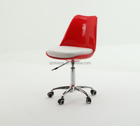 High quality manufacture orange office mesh chair