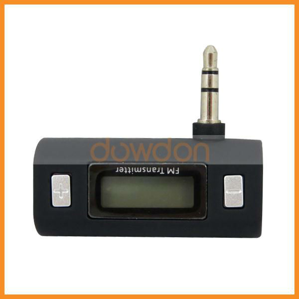Car MP3 FM Transmitter 3.5mm Jack for Mobile