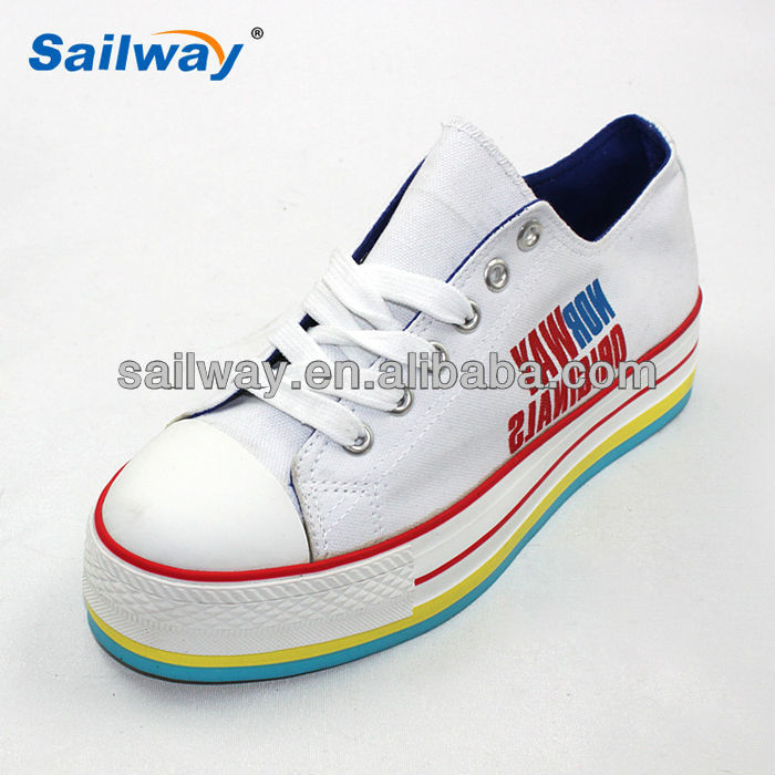 white wedge sneaker shoes for women