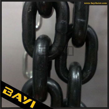 14mm lifting chain,G80 Grade,high quality manufacturing/G80 chain lift