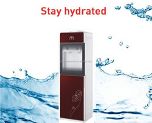Floor standing hot cold water dispenser with compressor 2016