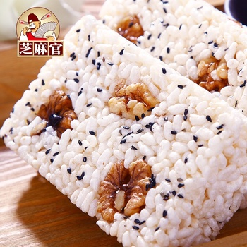 Best Price Chinese Delicious Food 300g Sweet  Rice Cracker With Walnut Peanut