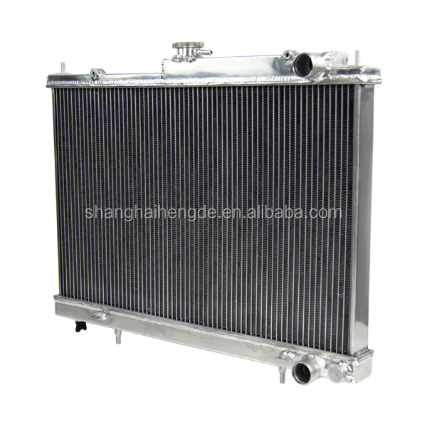 factory price aluminum custom car Radiator forNISSAN SKYLINE R33(AU) GTS-T RB25DET 94-98 fit R33 / R34 MT