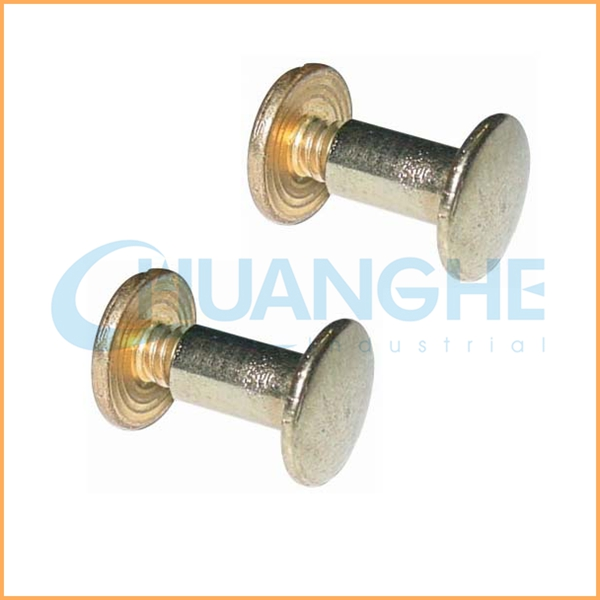 Low price wholesale!brass male female rivets