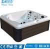 Corner freestanding massage spa island spas hot tubs (M-3395)
