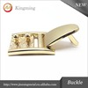 Gold Fashion Zinc Alloy Shoe Buckle
