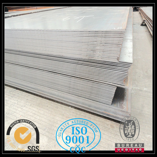 Hot rolled flat plate mild steel