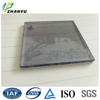 China Manufacturer Cast Clear and Colored Plastic Sheet Decorative Material Free Samples Number 533