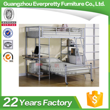 Industrial Loft Bed Furniture Strong Metal Bunk Bed With Cheap Price