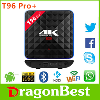 T96 Pro+ Amlogic 912 3g 32g unblock tv box dvb s2 android China manufacturer