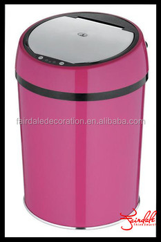 Bright color Automatic Sensor Dustbin 16-005-C