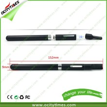 Crazy selling touch vaporizer pen with clear plastic tube e cigarette with test wholesale price