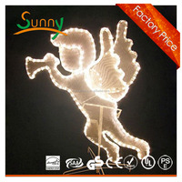 2013 New Product animated christmas snowman led motif light