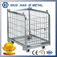 Industrial Stackable Storage Wire Steel Pallet Cage