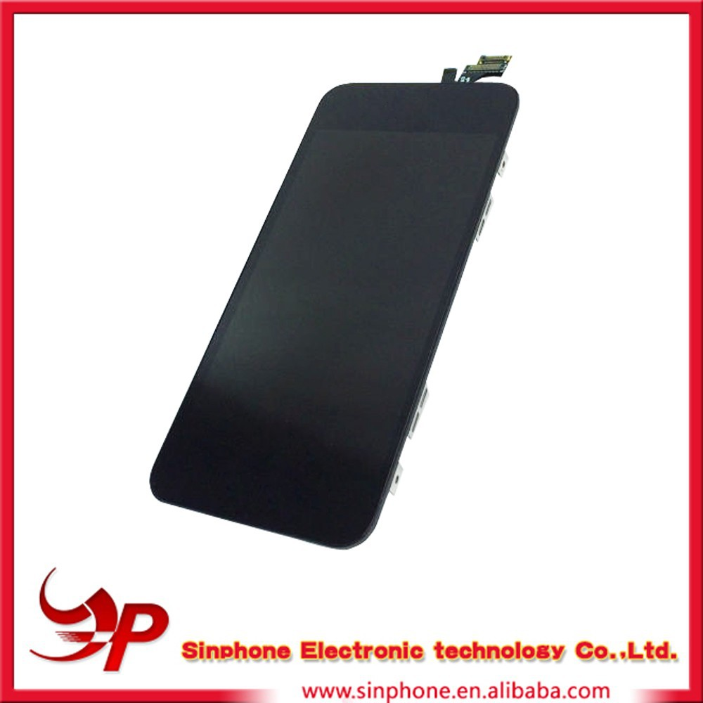 LCD display with touch screen digitizer for Apple iPhone 5 5G assembly