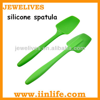 Colorful silicone types of spatula for baking& pastry tools