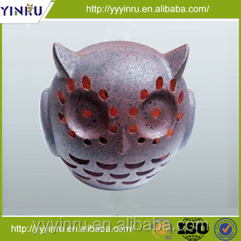 New design animal plastic solar rock light led deck light
