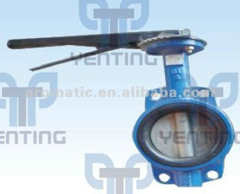 WAFER BUTTERFLY VALVE FOR CONCRETE BATCHING PLANT