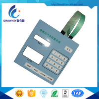 Custom Remote Rubber Membrane Keyboards For Portable Vehicle Weighing System
