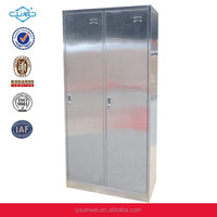 furniture factory hospital instrument stainless steel wardrobe cabinet