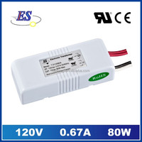 80W AC-AC Electronic Transformer for Down Light