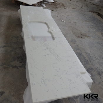 Custom Size Faux Quartz Countertops For Bathroom Buy