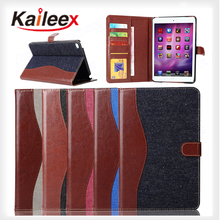 Factory Price Card Holder Leather Case For Ipad mini 4 Tablet Protective Cover