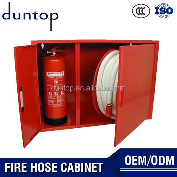 Duntop Fire Protection Industry Best Price Fire Hose Reel Cabinet Fire Safety Cabinet