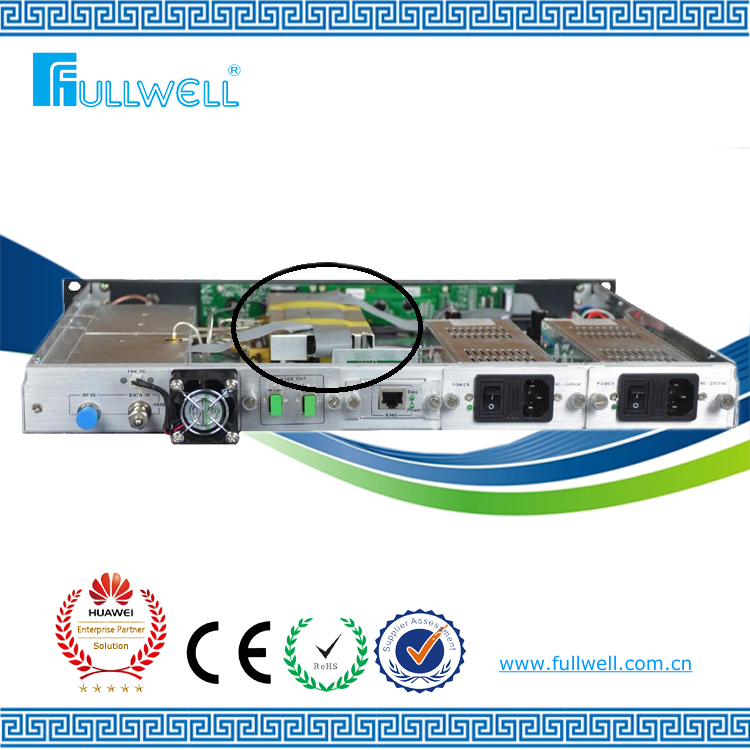 Fullwell 1550nm CATV optical tv transmitter and optical transmitter price