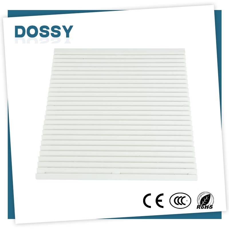 ABS plastic protect dust panel exhaust fan hepa Panel filter