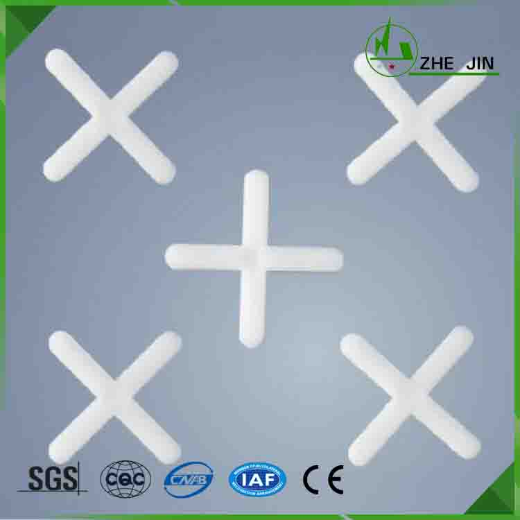 Zhe Jin ROHS Best Price Various Sizes Pvc Plastic Tile Spacers Cross