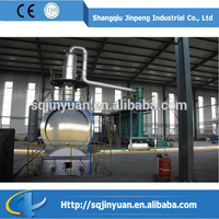 Used Engine Oil Distillation Plant Recycling Machine Plastic Waste Pyrolysis Plant