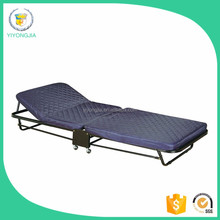 Hotel Folding Extra Bed/ single folding bed with mattress/ bed frame