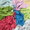 Disposable color cotton fabric scraps for cleaning rags