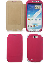 New Fashion Cute Book Style Leather Cell Phone Case for Samsung Galaxy Note 2 N7100