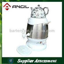 5L Electric Stainless Steel Electric Samovar with Ceramic Teapot