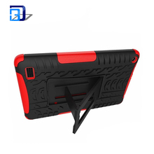 China Slim 2 in 1 PC+TPU Hybrid armor rugged case cover for Amazon Kindle fire 7 2015 with stand, for Amazon Kindle fire 7 case