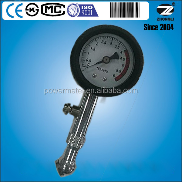 customized dial plate 60mm tire pressure gauge manometer used for car