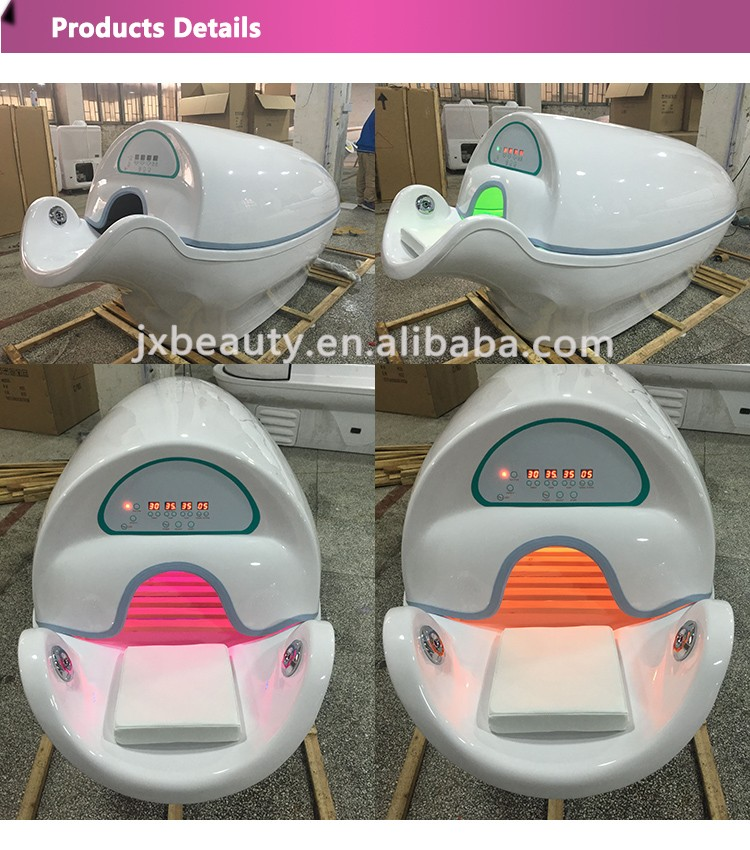 Spa Capsule / LED Light Therapy Bed For Full Body Steam